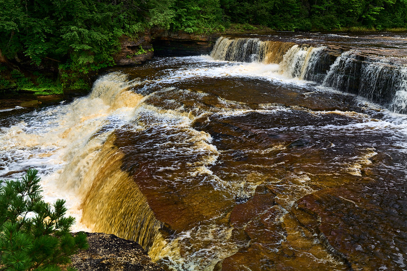 Tahquamenon Lower Falls – UP, Michigan aka Root Beer Falls #2