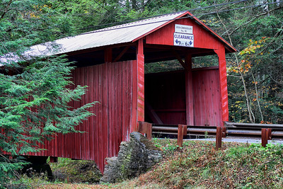 IMG#2499 Judd Christian Bridge built in 1876 by Willaim L. Manning for $239.00. Located between Jackson and Pine Townships, it crosses Little Fishing Creek in Columbia county, Pennsylvania. October 2009