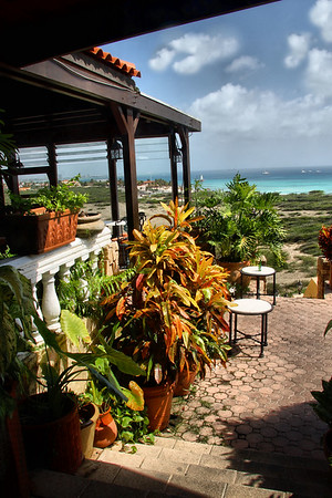 IMG#9183 Step down to Veranda dining...Aruba