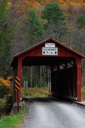 IMG#2515 Creasyville Bridge built in 1881 by T.S. Christian for $301.25. Also located on Little Fishing Creek between Jackson and Pine Townships, Columbia county Pennsylvania.