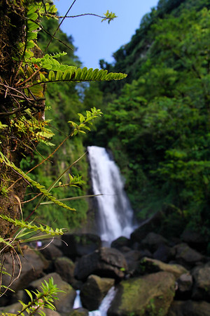 IMG#4007 Waterfall in Dominica