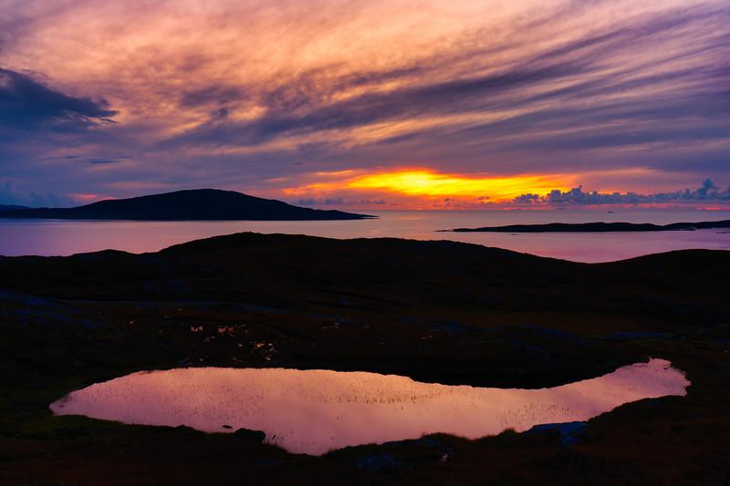 Outter Hebrides Sunset