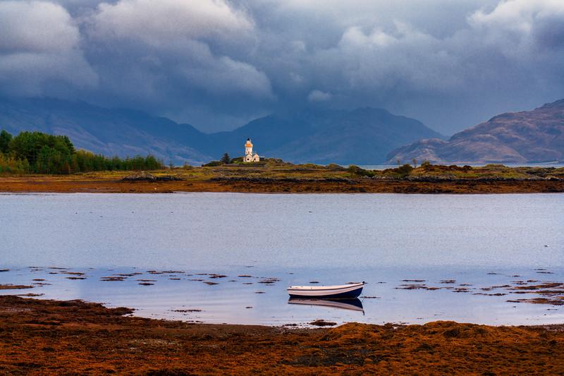 Isle Ornsay Lighthouse, Isle of Skye