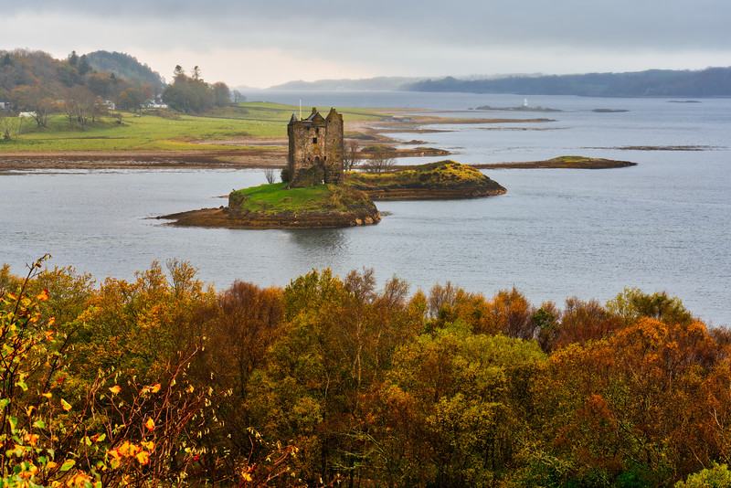 Stalker Castle, Scottish Highlands