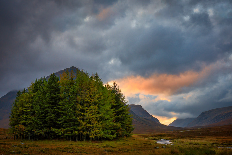 Glen Etive and the Scottish Highlands