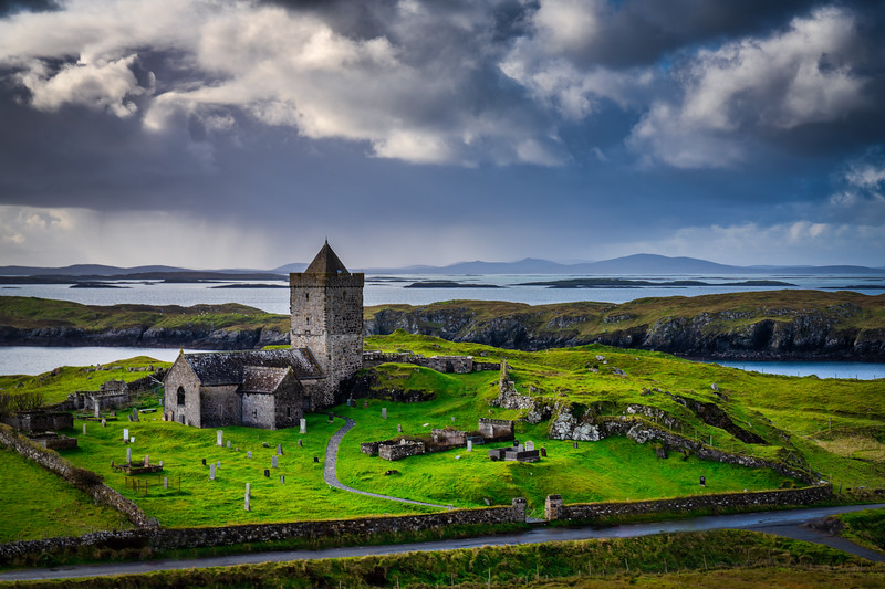 St Clement's Church, Rodel, Isle of Lewis and Harris