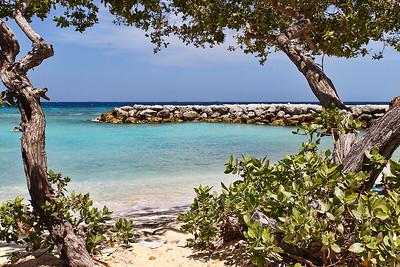 Man-made Lagoon on De Palm Island...Aruba 2014