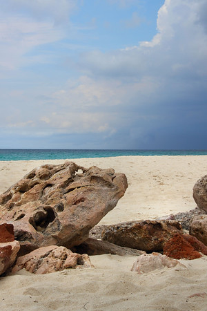 IMG#1450  Skies in Aruba warn there will be rain...very little and very brief shower followed. 5/20/11 10.57am
