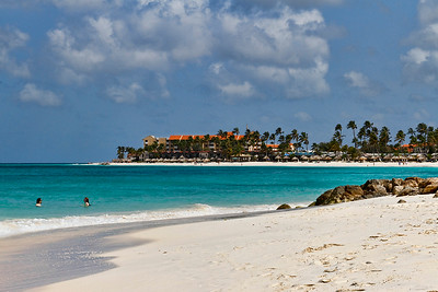 Beach at the Divi Resort...Aruba 2014