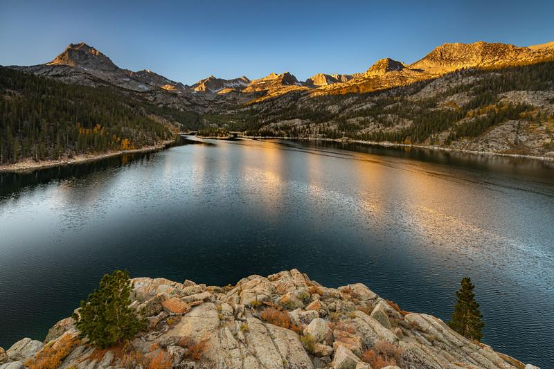 South Lake Mid October sunrise