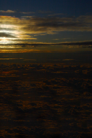 IMG#1510 September sunrise above the clouds...