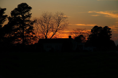IMG#9782A Country Sunset-South Carolina