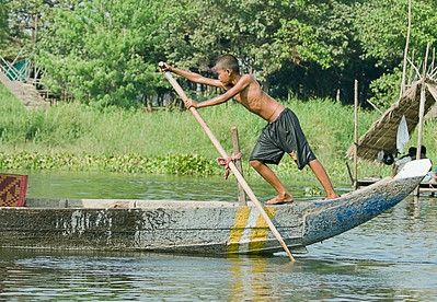 5) 	Boy on Canoe_V5T9516