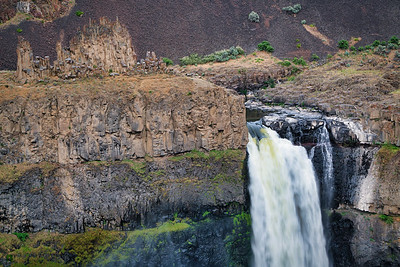 Basalt Rock Formation and Palouse Fall
