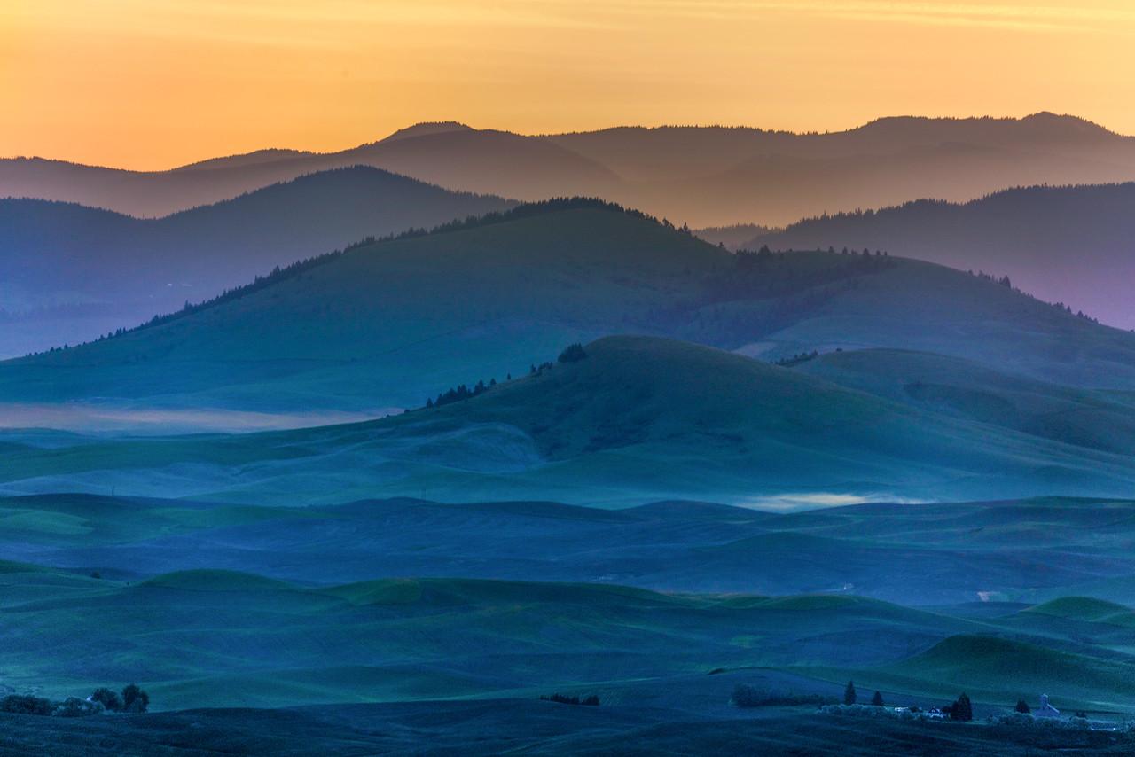 Dawn at Palouse Hills