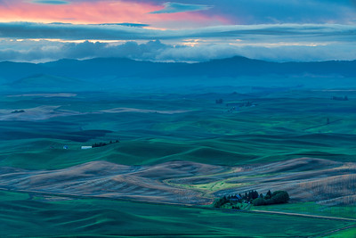 Dawn Light Over Palouse