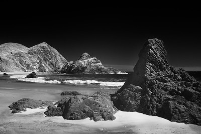 Pfeiffer Beach in Infrared