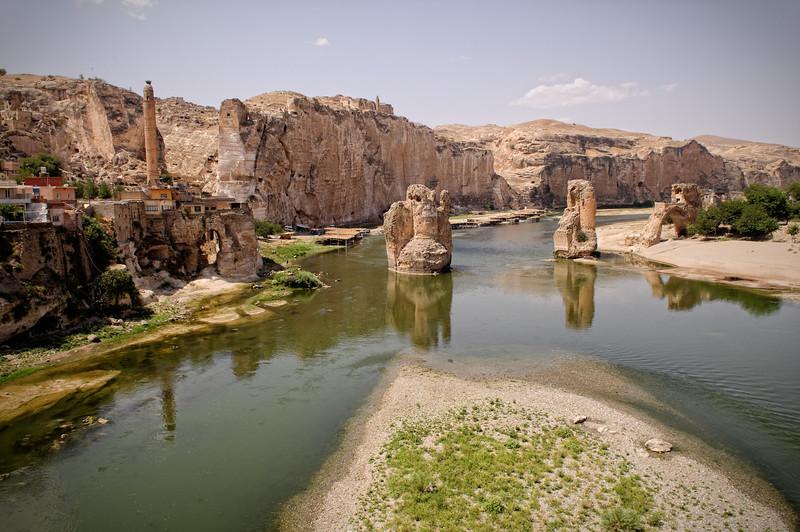 Hasankrif and Tigris river.