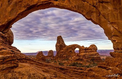 Turret Arch thru South Window