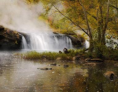 Sandstone Falls-Autumn