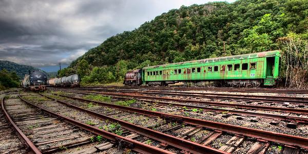 Hinton West Virginia Old Train Photo