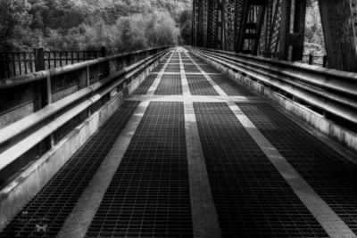 Bridges Over New River Photo