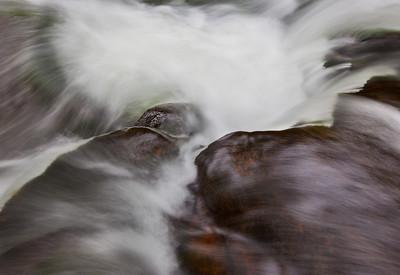 Water Rushing Dunlop Creek Photo
