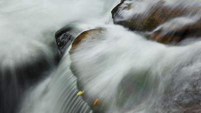 Water Rushing Dunlop Creek