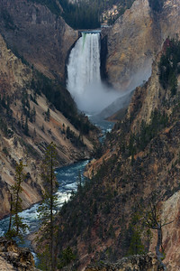Lower Yellowstone Fall, Yellowstone National Park, Wyoming, USA.