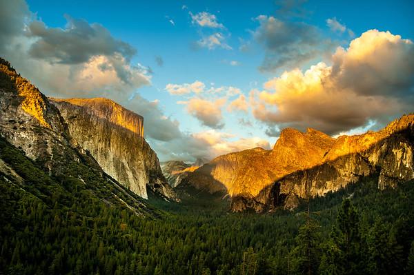 Yosemite sunset