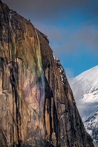Rainbow Mist on Horsetail Fall