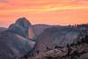 Dusk Sky Over Half Dome