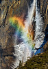 Mistbow Over Upper Yosemite Fall