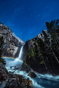Big Dipper Over Moonbow