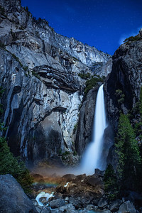 Yosemite Fall Moonbow