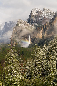 Rainbow Over Bridalveil Fall