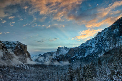 Clearing Storm Over Yosemite Valley