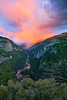Alpenglow and Merced River