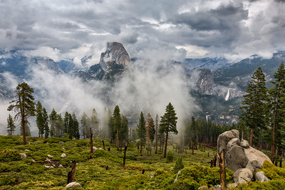 Clearing Storm, Yosemite High Country