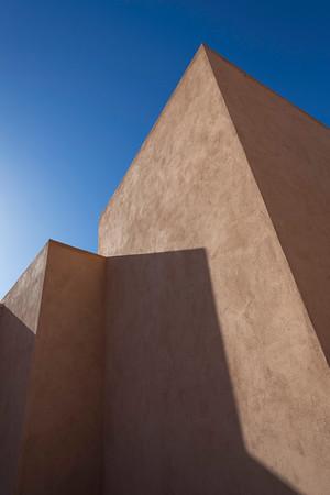 Modern, angular architecture.