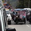 Street Vendors on bikes