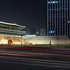 Sungyemun Gate at night