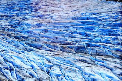 Meade Glacier at Skagway Alaska.