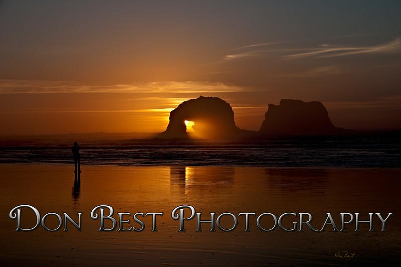 Twin Rocks Sunset #9634PSN