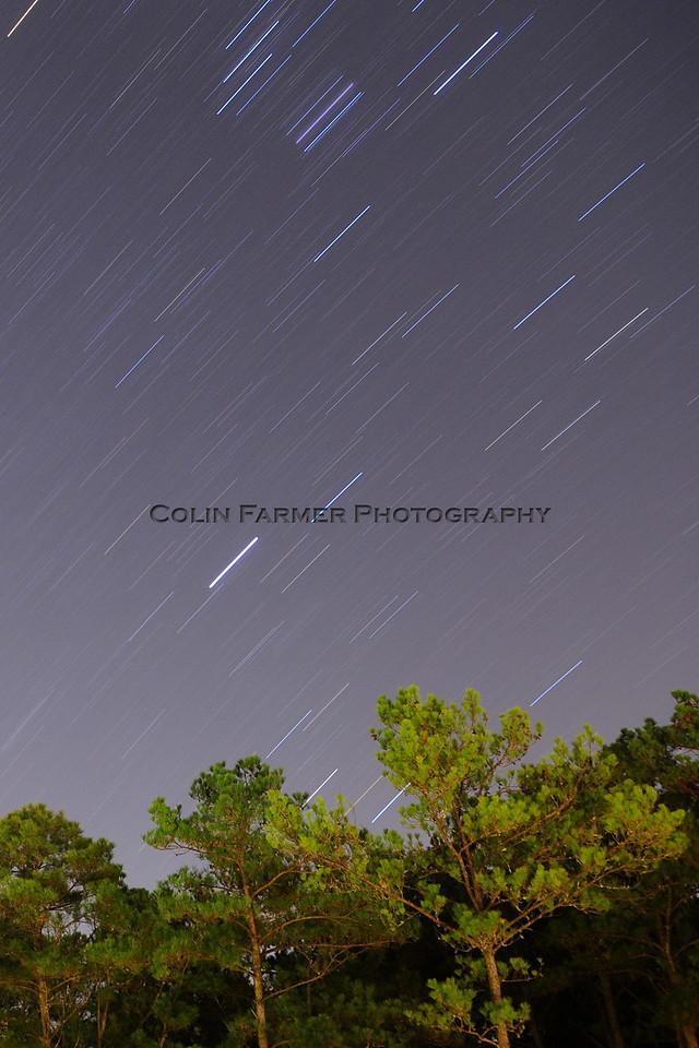 Pine Mountain Star Trail