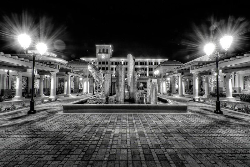 Palladio Mall at Night