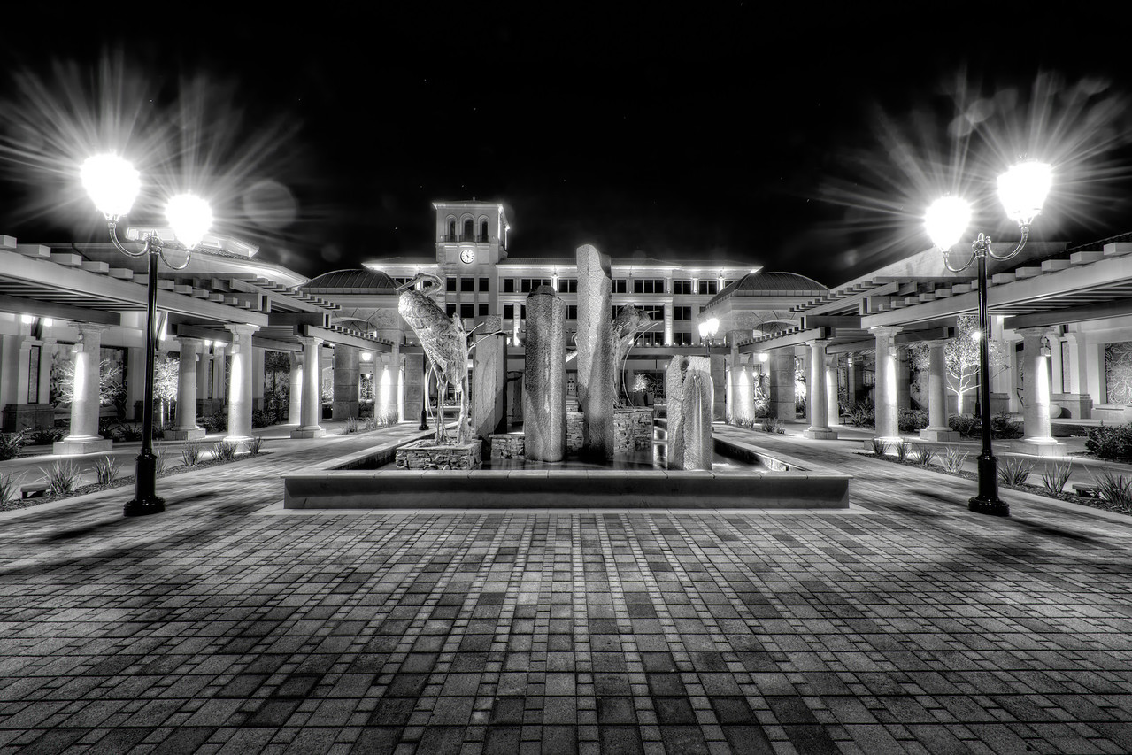 Palladio Mall at Night