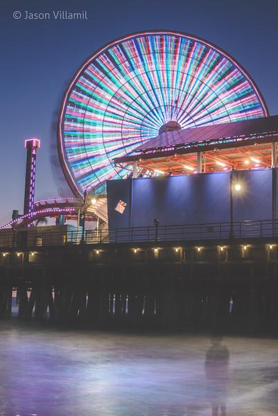 Santa Monica Ferries Wheel