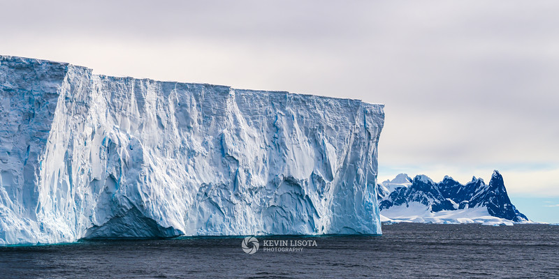 Tabular iceberg in the Gerlache Strait