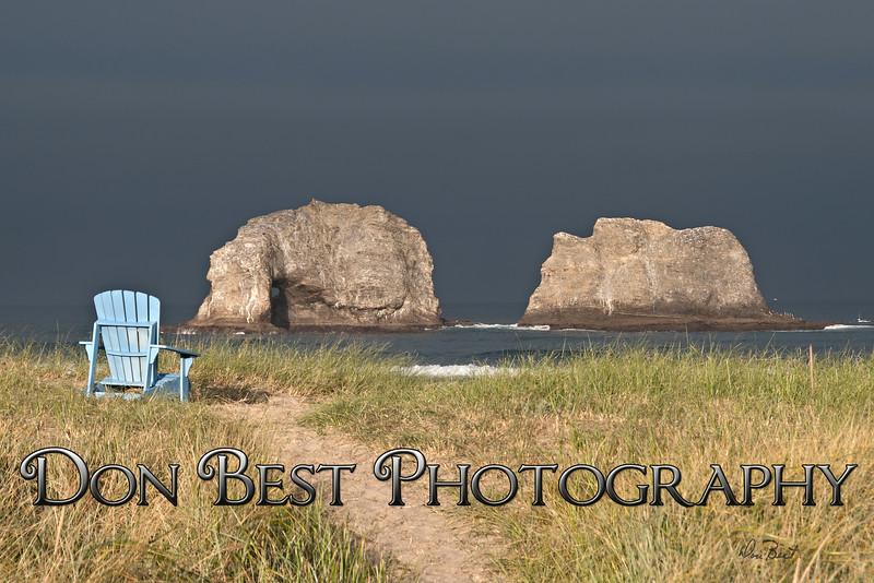 Twin Rocks blue chair  2368